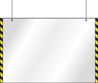 Подвесной защитный экран с боковой разметкой